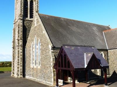 Ballwillan Church - side