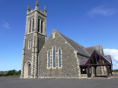 Ballywillan Church Front (Angled)