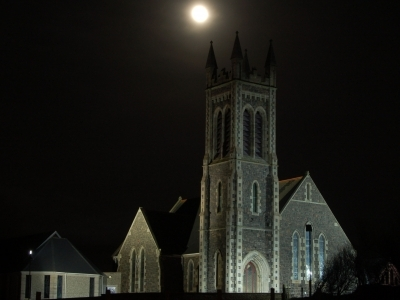 Ballywillan at night