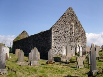 Old Ballywillan Church Ruins