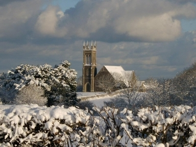 Ballywillan in snow