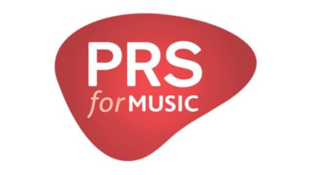 We are registered with PRS for Music